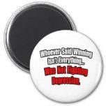 El ganar no es todo cita, depresión imán para frigorífico