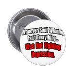 El ganar no es todo cita, depresión pins