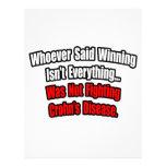 El ganar no es todo cita, la enfermedad de Crohn Membrete A Diseño