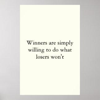 El ganar posters