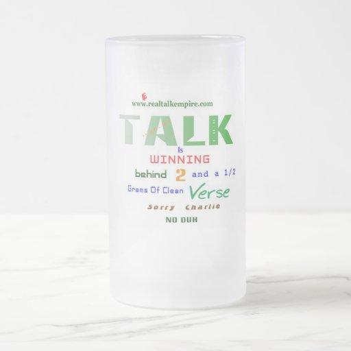 el ganar - vidrio taza