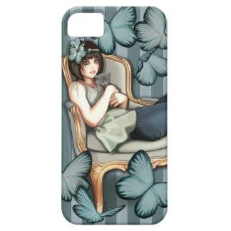 El gandulear en mi silla de Louis iPhone 5 Case-Mate Carcasas
