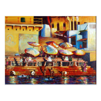 El Ganges de oro Postal