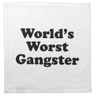 El gángster peor del mundo servilleta