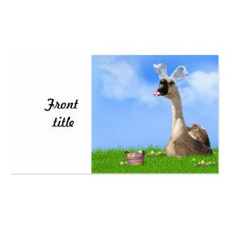 El ganso de Pascua Tarjetas De Visita