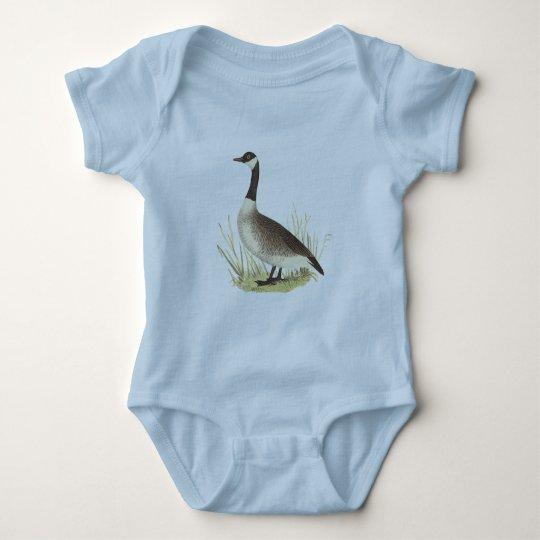 El ganso salvaje(canadensis del Anser) Body Para Bebé