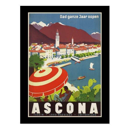 El ganze Jaar del papá oopen Ascona Postal