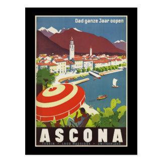 El ganze Jaar del papá oopen Ascona Tarjeta Postal