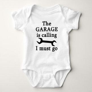 El garaje es llamando yo debe ir body para bebé