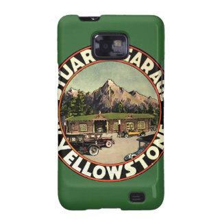 El garaje Yellowstone de Estuardo Samsung Galaxy SII Carcasa