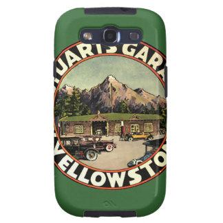 El garaje Yellowstone de Estuardo Galaxy SIII Cobertura