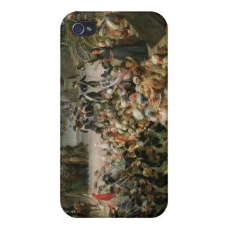 El Garde Nationale de París iPhone 4 Funda
