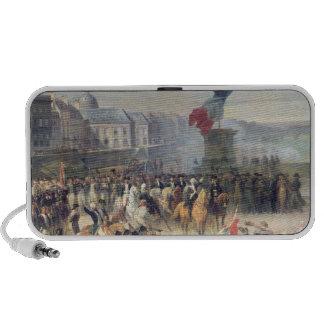 El Garde Nationale de París Portátil Altavoces
