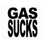El gas chupa postal