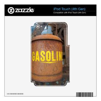 El gas oxidado puede skins para iPod touch 4G