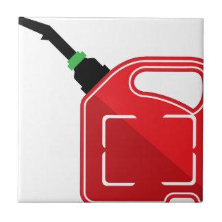 El gas puede azulejo cuadrado pequeño