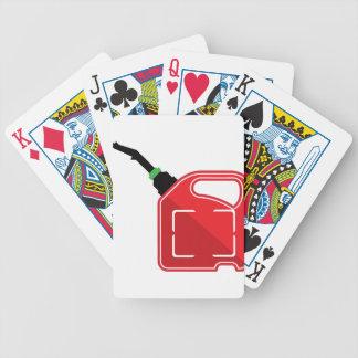 El gas puede baraja cartas de poker