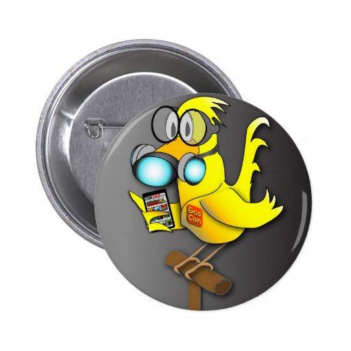 """El """"gas puede"""" canario pins"""