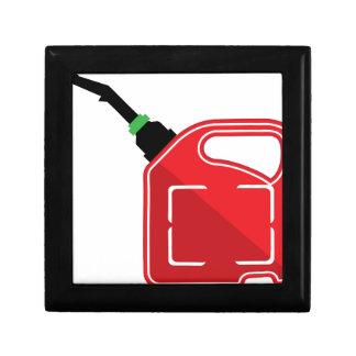 El gas puede joyero cuadrado pequeño