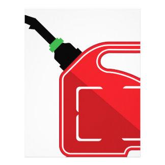 El gas puede membrete a diseño