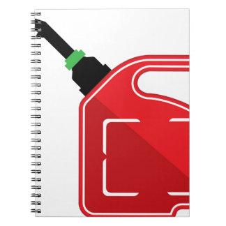 El gas puede notebook