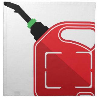 El gas puede servilletas imprimidas