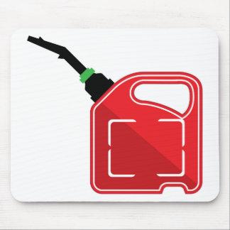El gas puede tapete de ratones