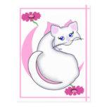 El gatito de Bianca Toon cosquilleó la postal de l
