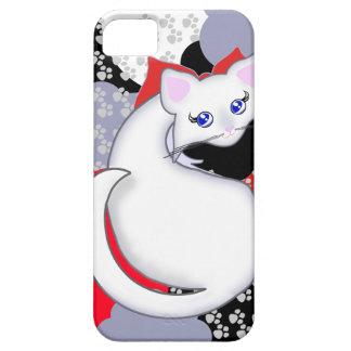 El gatito de Bianca Toon curva la caja de la iPhone 5 Funda