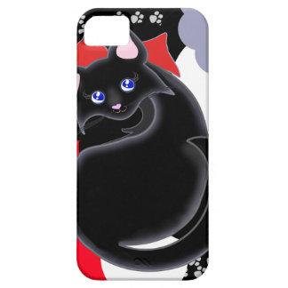 El gatito de Kiara Toon curva la caja de la iPhone 5 Carcasas