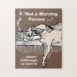 """¡El gatito del café no es un *ahem* """"persona"""" del  Puzzle Con Fotos"""