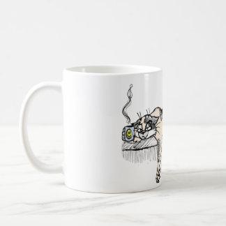 """¡El gatito del café no es un *ahem* """"persona"""" del  Taza"""
