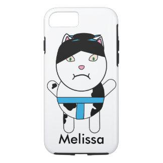 El gatito del sumo personaliza funda iPhone 7