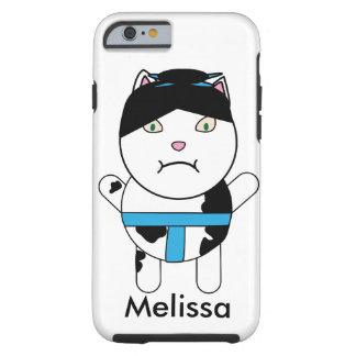 El gatito del sumo personaliza funda resistente iPhone 6
