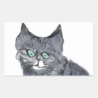 ¿El gatito del tigre pide, qué bastón de caramelo? Rectangular Altavoces