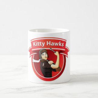 El gatito Hawks la taza básica