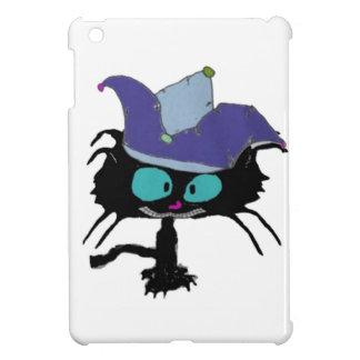 El gatito juega el gato del bufón iPad mini coberturas