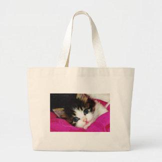 El gatito más lindo de los mundos bolsas de mano