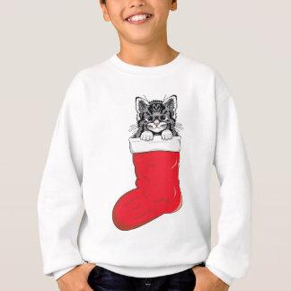 El gatito más lindo del navidad remera