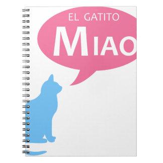 EL Gatito Miao Libretas