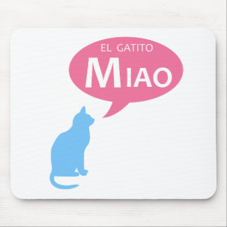 EL Gatito Miao Tapetes De Raton
