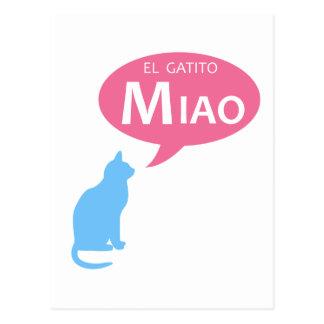 EL Gatito Miao Postales