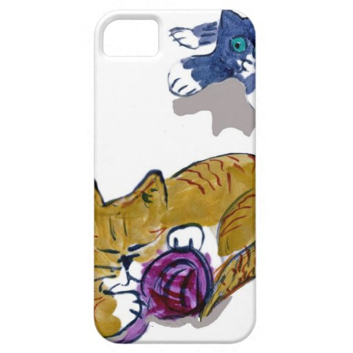 El gatito pone en marcha un ataque aéreo iPhone 5 Case-Mate carcasas