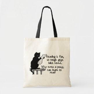 El gatito puede leer