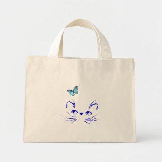 El gatito soña despierto el bolso azul bolsas de mano