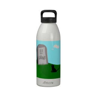El gato 1 de Schrödinger - Schrödinger 0 Botella De Agua Reutilizable