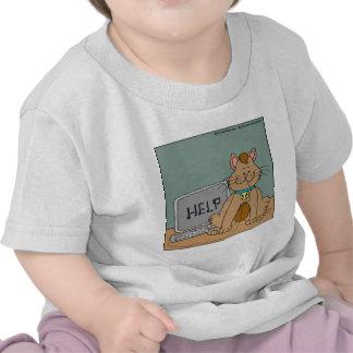 El gato 631 comió el dibujo animado del ratón del camisetas