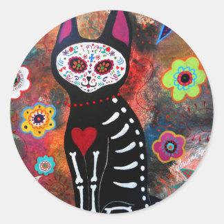 El Gato By Prisarts Classic Round Sticker