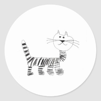 El Gato Classic Round Sticker