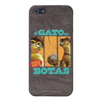 El Gato Con Botas Case For iPhone SE/5/5s